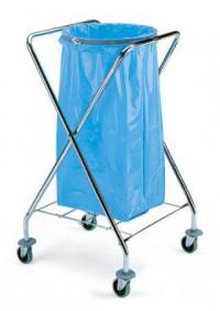 Porte sac poubelle dust chrome