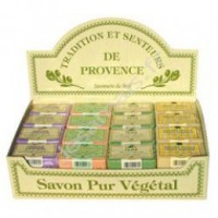 Presentoir 48 savonnettes 100g