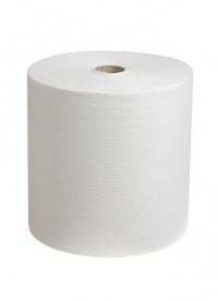 Essuie-tout blanc 500 feuilles - 6 unités