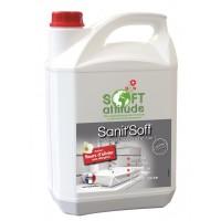 Détartrant salle de bain Sanit'soft - SOFT' ATTITUDE - HYDRACHIM - 5L