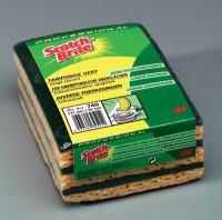 Eponge Tamponge Récurage normal jaune/vert 740 SCOTCH-BRITE - Pack de 2