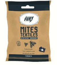 Crochet mites textiles x4 - FURY