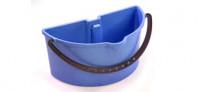 Seau double 2x2L bleu avec poigné - NUMATIC
