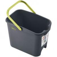 Seau gris 14 litres  rectangulaire MERY-THOMAS