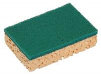 Eponge végétale tampon vert - Petit modèle - LAMATEX