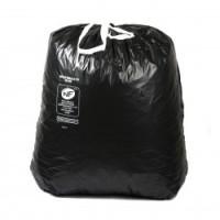 Sac poubelle noir 100L à liens - BD NF