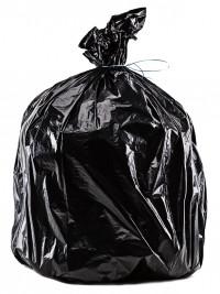Sacs poubelle PEBD 25 microns - 110L - 200 unités