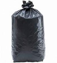 Sac poubelle 130 L noir 65µ CARTON DE 100-DELAISY-