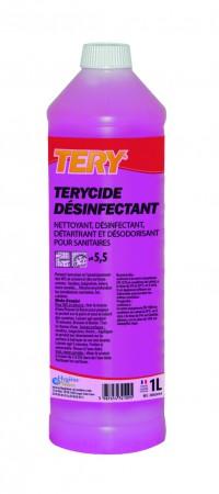 TERY Terycide desinfectant  pour sanitaires - 1L - Hygiène & Nature