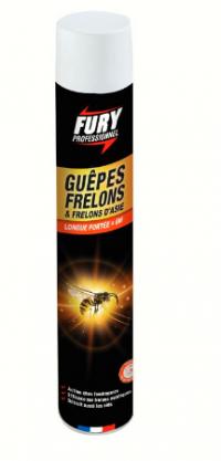FURY - Tue guêpes frelons et frelons d'Asie - 750ML