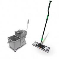 erGO! clean Kit de démarrage mop à languettes-UNGER-