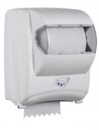 Distributeur essuie-mains autocut OLEANE - ABS BLANC/TRANSPARENT - ROSSIGNOL