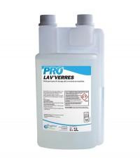 Liquide concentré lavage verrerie - PRO LAV'VERRES - HYGIENE & NATURE - 1L