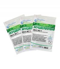 Nettoyant Neutre Multi Surfaces Ecologique - MULTI NET V - HYGIENATUR - Carton de 250 dosettes - ECOLABEL