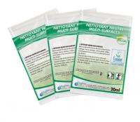 Nettoyant Neutre Multi Surfaces Ecologique - HYGIENATUR - Carton de 250 dosettes - ECOLABEL