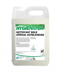 Nettoyant Sols Ecologique pour autolaveuse - HYGIENATUR - 5L