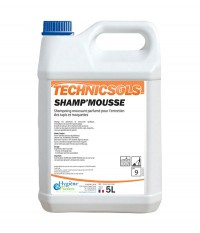 Nettoyant Shamp'mousse - TECHNICSOLS - HYGIENE & NATURE - 5L