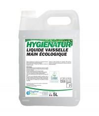 Liquide Vaisselle Mains Ecologique HYGIENE & NATURE 5 L - Ecolabel
