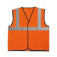 Gilet de signalisation Haute-visibilité - SINGER - Orange