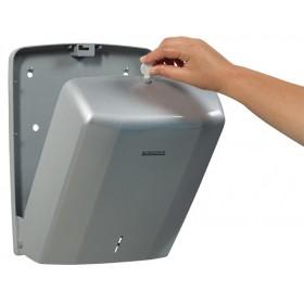 Distributeur Essuie Mains ROSSIGNOL 400F ABS Gris
