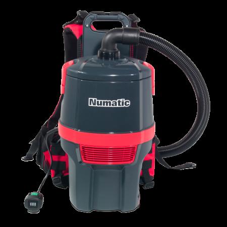 Aspirateur dorsal poussière NUMATIC RSB150NX-batteries