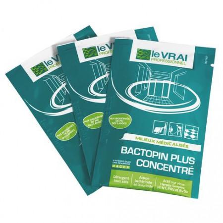 Détergent désinfectant BACTOPIN PLUS Concentré - LE VRAI Professionnel - 250x20ml