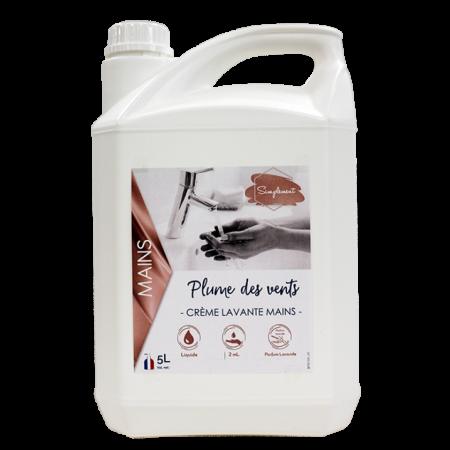 Crème lavante pour les mains lavande 5L Plume des vents-HYDRACHIM
