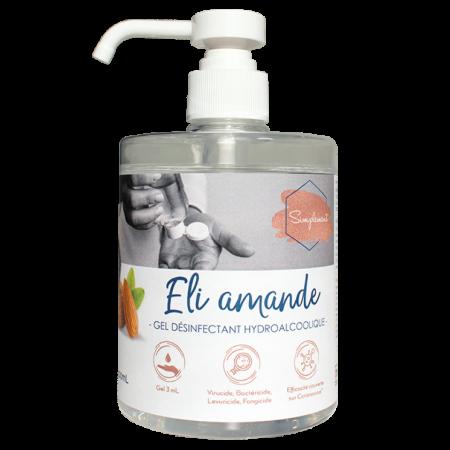 Gel hydroalcoolique Eli amande SIMPLEMENT-HYDRACHIM-